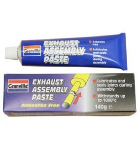 Granville Exhaust Assembly Paste Provides Gas Tight Seal & Lubricates 140g.